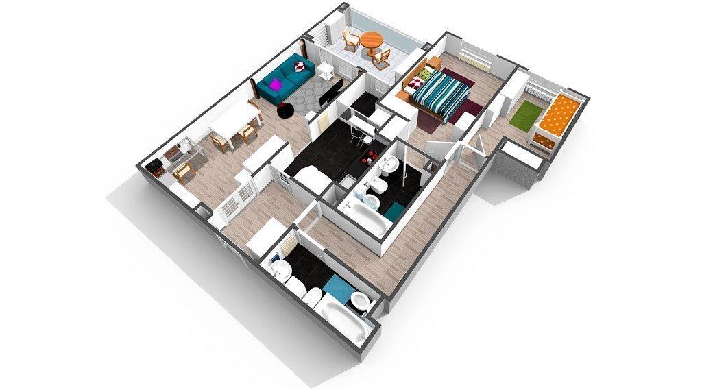 Plano 3D: ventajas de su uso en la promoción inmobiliaria